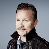 headshot of Morgan Spurlock